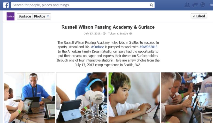 Surface Facebook 2