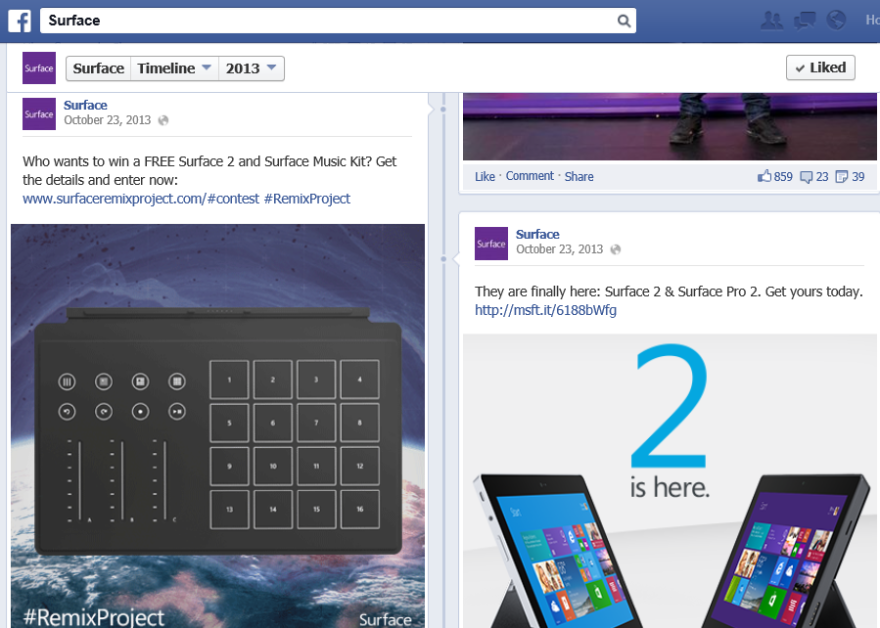 Surface Remix and Release